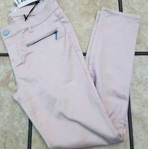 Love, Fire light pink pants Size 9 NWT